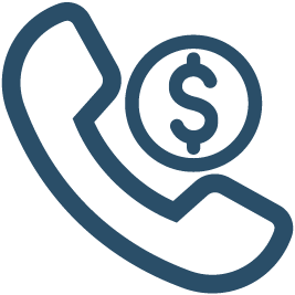 Automatic Phone Payment Icon