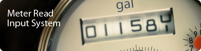 Meter Read Input System Banner