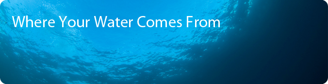 Where Your Water Comes From Banner - underwater view